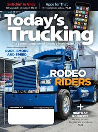 100 Roadshow Trucking Todays September 2018 By Annex Business Media Issuu