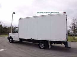 100 16 Ft Box Truck 2006 Gmc Savana Cutaway Ft