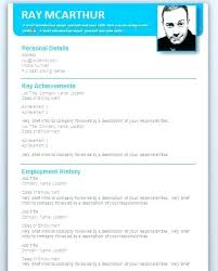 Professional Cv Template Word Free Download Resume For Format Creative Templates