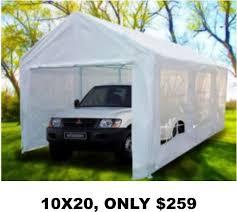 10x20 Metal Storage Shed by 12 Best Affordable Garages Prefab Wood Metal Resin Poly