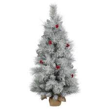 Target Artificial Christmas Trees Unlit by 4 Tabletop Christmas Trees Target