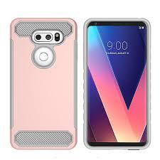 Carbon Fiber Design Rugged Hard Armor Phone Case For Lg V30 For Samsung Galaxy S8 Active G892 A Waterproof Cell Phone Case Best Cell Phone Cases From