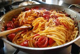 cuisson des pâtes al dente un italien
