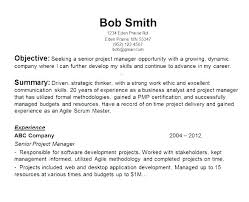 Sample Entry Level Resume For Highschool Students Objective With Objectives Resumes Glamoro