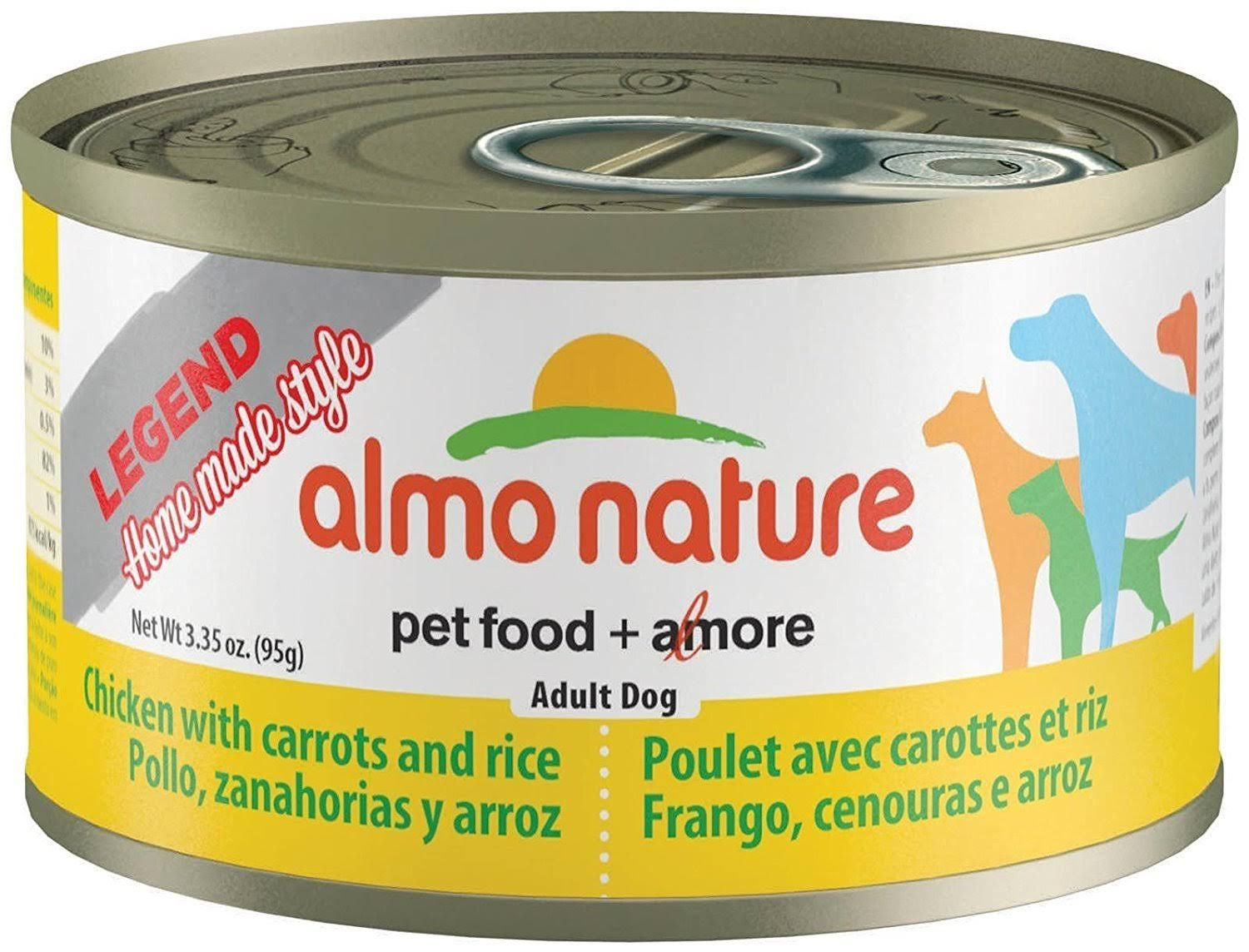 Almo Legend Canned Dog Food - Chicken & Carrot, 3.35oz