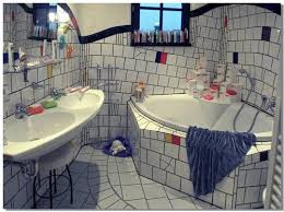 magdeburg hundertwasser haus badezimmer bath room