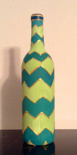 Decorative Wine Bottles Ideas by 55 Best Painted Bottles Images On Pinterest Painted Wine Bottles