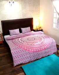 Indian Mandala Duvet Cover Blanket Quilt Cover Bedspread Bedding