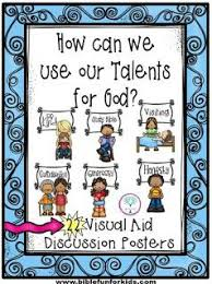 Parable Of The Talents Application Visuals Great For Many Bible Lessons