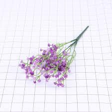 Hecha A Mano Artificial Flor De La Boda Ramo De Novia Blanco
