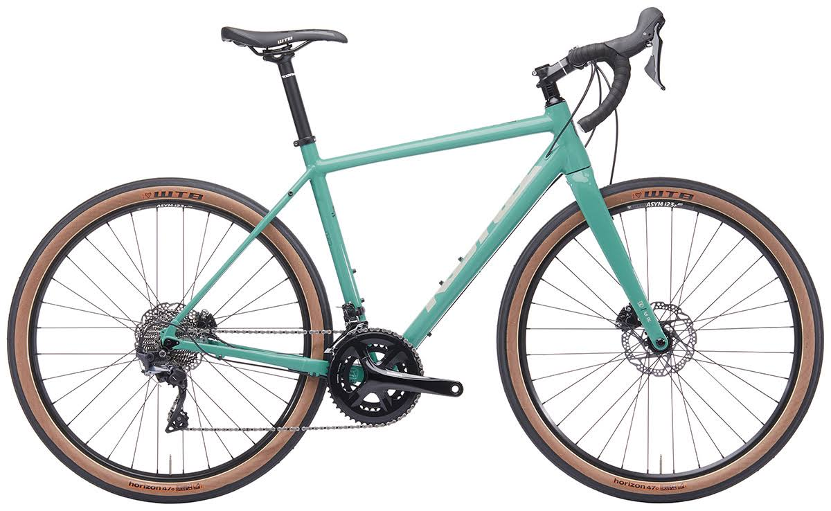 Kona Green Rove NRB Deluxe Road Gravel Bike | 2019 Collection