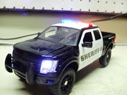 Custom 1/24th Scale JADA Diecast FORD RAPTOR Sheriff Truck With ... Classic Metal Works Ho 1960 Stakebed Ford Truck Yellowred Ertl 118 F 100 Diecast Model Car Aw211 Svt F150 Lightning Pickup Red Maisto 31141 121 Not A Toy 1925 Panel Delivery Super Duty F350 Dually Biguntryfarmtoyscom 2016f250dhs Colctables Inc Majorette Premium 150 Cars Street Cruisers 66 Party Favors Rroplanetcom Raptor Highlift By Scale 187 With Moving Van Trailer Custom Coe 9000 Toys Proline F650 Monster Body Clear Pro319300 1956 F100 124 Scale American Diecast