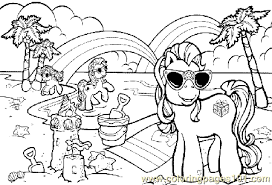 Summer Coloring Page 18
