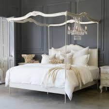 Canopy Bed Queen by Eloquence Aria Queen Canopy Bed Queen Canopy Bed Non Tufted Dove