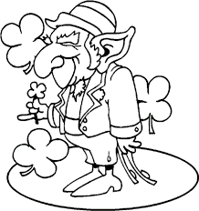 Inspirational Leprechaun Coloring Pages 71 For Your Online With