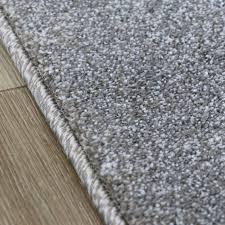 80x150 cm teppich wohnzimmer modern grau kurzflor kariert mit konturen my7423g
