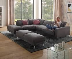 ottomane canapé canapé d angle sonny ml 4 places avec ottomane fonction relax