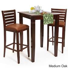 Shop Italy Bar Table And Stools 3-piece Set - Free Shipping Today ... Tms 3piece Bistro Ding Set Walmartcom Breakfast 3 Piece Wilko Ashley Fniture Bringer Drop Leaf Table 2 Upholstered Amazoncom Linon Tavern Collection 36 With Two Chairs All Light Oak Meg Meg3pctableset Lifestyle Mack Milo Nicklas Kids Windsor Writing And Chair Metropolitan Multiple Finishes Arden Marble Look Top Coffeeend Coffee East West Anav3blkw Kitchen Nook Sofa Recliner Fold Down Cup Holders Steve Silver Antoinette Pedestal Pub Bar Stool
