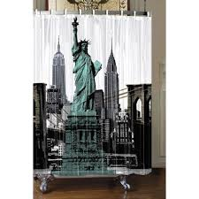 New york city shower curtain Furniture Ideas