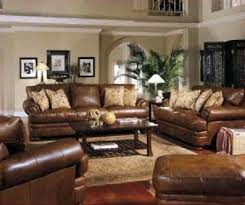 Brown Living Room Decorations by Best 25 Brown Leather Furniture Ideas On Pinterest Living Room