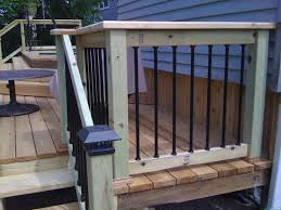 Horizontal Deck Railing Ideas by Plans Is Done Pictures Of Close Up And Best Ideas About Glass On