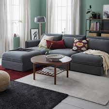 tyvelse teppich kurzflor elfenbeinweiß 133x195 cm ikea