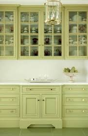 Sage Colored Kitchen Cabinets by Painted Kitchen Cabinets Ideas Before And After Sage Kitchen