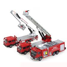100 Fire Trucks Toys Details About Three KDW 150 Scale Diecast Vehicle Cars Model Combination