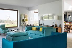 modern turquoise sofa living room design ideas houseandgarden