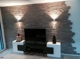 18 schlafzimmer ideen wandgestaltung stein wall