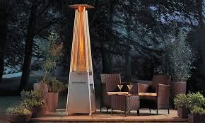 Pyramid Patio Heater Cover by 35 Off Pyramid Flame Gas Patio Heater Groupon