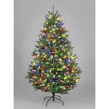7ft Slim Led Christmas Tree by Slim Pre Lit Christmas Trees Vickerman Prelit Flocked White