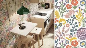 papier peint cuisine faut il oser le papier peint dans la cuisine