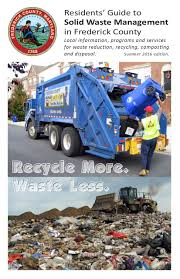 Waste Management Christmas Tree Pickup Schedule by Department Of Solid Waste Management Frederick County Md