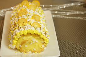 hervé cuisine buche marron bûche de noël facile façon tarte aux citrons meringuée