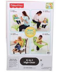 Fisher Price 4-in-1 High Chair - Green