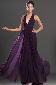 sleeveless silk chiffon floor length a line evening gown modern
