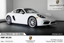 Pre-Owned Vehicles Colorado Springs Colorado   Porsche Colorado Springs