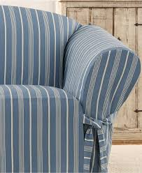 Sure Fit Wing Chair Recliner Slipcover by Living Room Furniture Classy Design Of Sure Fit Sofa Slipcovers