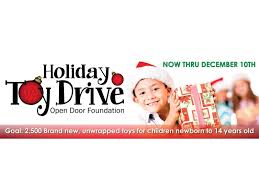 Open Door Foundation Launches Annual Toy Drive
