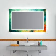 design effekt spiegel green grunge badspiegel shop