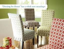 Unbelievable Dining Room Chair Covers Pier One Dressing For Dinner Has A Whole New Meaning Phenomenal Chairs