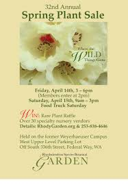 Free Admission To The Garden With Plant Sale Receipt During