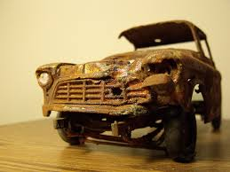 100 Plastic Model Trucks Rusty Plastic Model Truck Another View Of The Rusted Proje Flickr