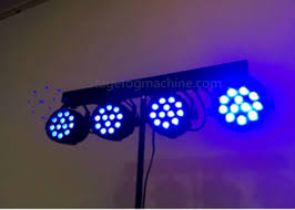 4 12 Pcs RGB RGBW Party Led Par Can Lights Sound Activated