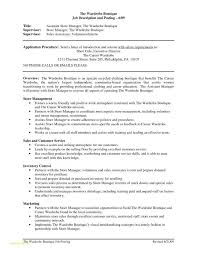 Sample Resume For Warehouse Worker From Management Or Grocery Store Manager