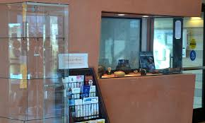 Business Display Case Installed At White Rock Visitor Center