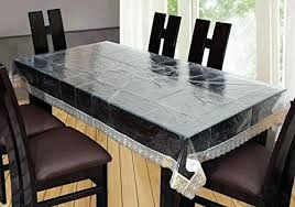 Dining Table Cover Transparent Covers Stunning India
