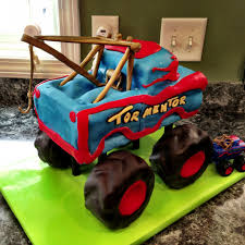 Tormentor Monster Truck Mater Cake | Mater Monster Truck Party Ideas ...
