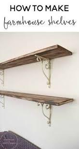 Wood Shelves Diy by Diy Faux Floating Shelves Shelves House And Room